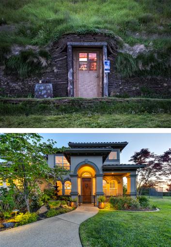 front door home improvement project
